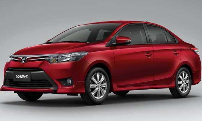 Toyota aumentará a participação entre os sedãs compactos com o Yaris(foto: Toyota/Divulgação)