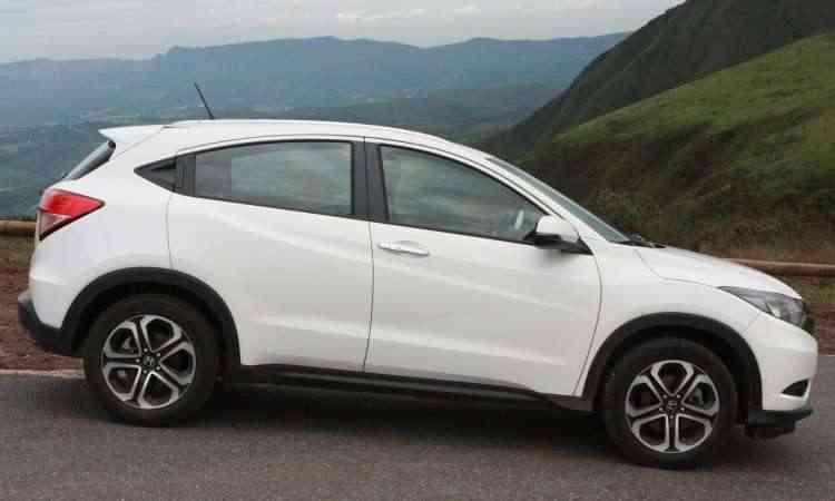As dimensões de compacto (20cm a mais do que o Fit) fazem com que este SUV não seja um estorvo na cidade - Edésio Ferreira/EM/D.A Press