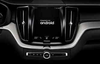 Carros da Volvo já terão disponíveis aplicativos como Google Maps. Foto: Volvo / Divulgação