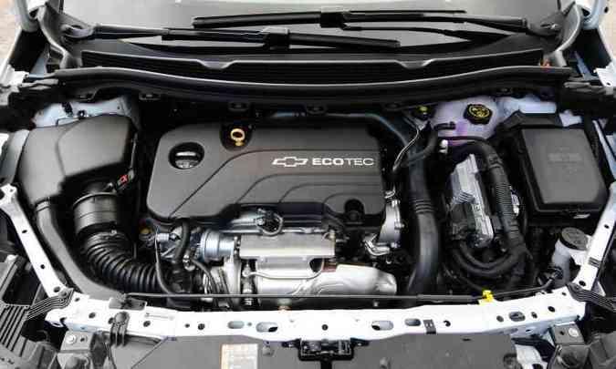 Com injeção direta, motor 1.4 turbo é ágil e econômico, com respostas rápidas
