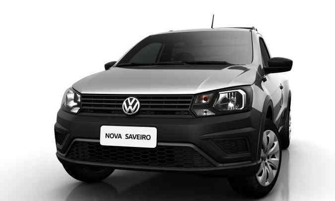 Picape passa a exibir faróis, grade e para-choque de desenhos exclusivos(foto: Volkswagen/Divulgação)