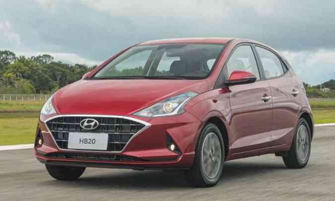 Nova geração do Hyundai HB20 chega ao mercado para reaquecer as vendas do modelo(foto: Hyundai/Divulgação)