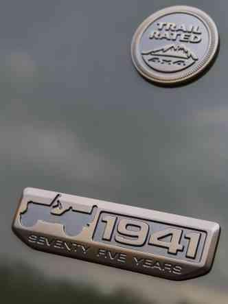 Emblemas estampam carroceria(foto: Divulgação/Jeep)