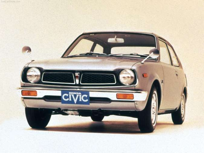 Primeira geração (1972 a 1979)Honda/Divulgação