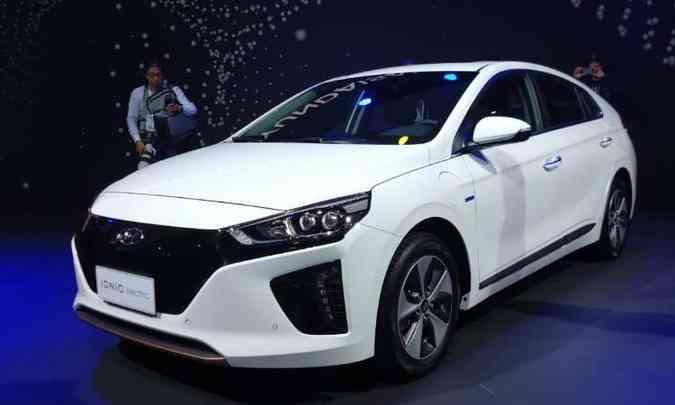 Hyundai Ioniq EV(foto: Pedro Cerqueira/EM/D.A Press)