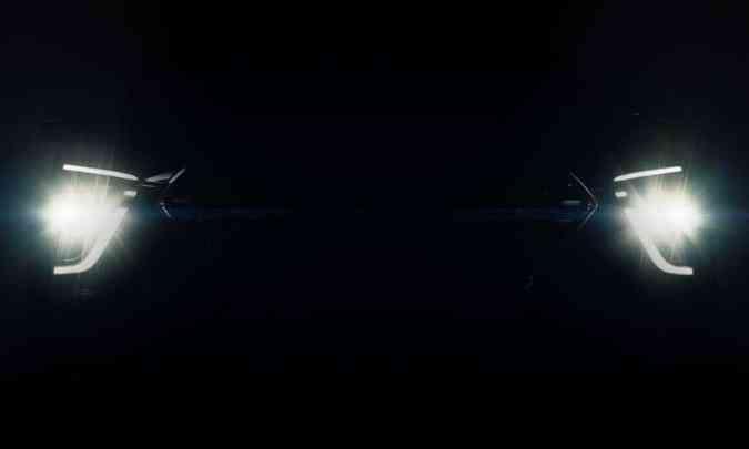 ...e luz diurna também em LED, modernizando o conjunto óptico do SUV compacto(foto: Hyundai/Divulgação)