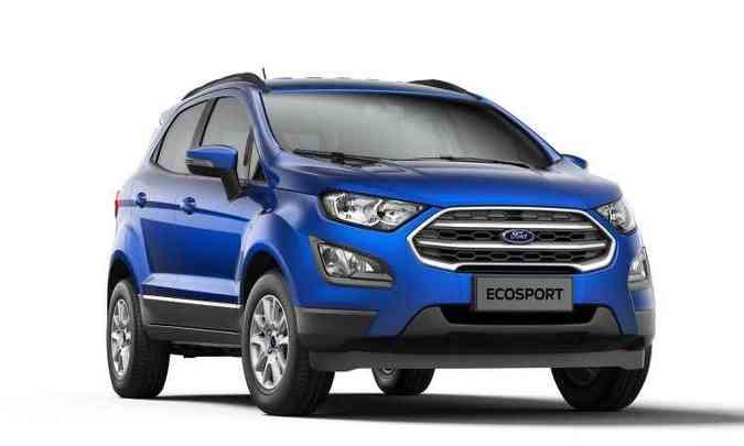 Versão de entrada SE(foto: Ford/Divulgação)
