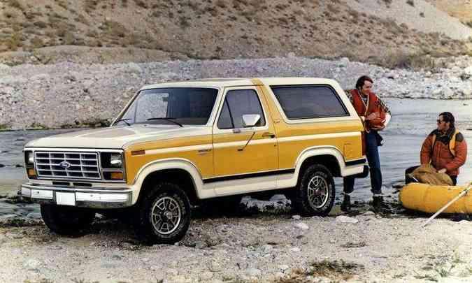 Terceira geração veio em 1980, baseada na picape F-150(foto: Ford/Divulgação)