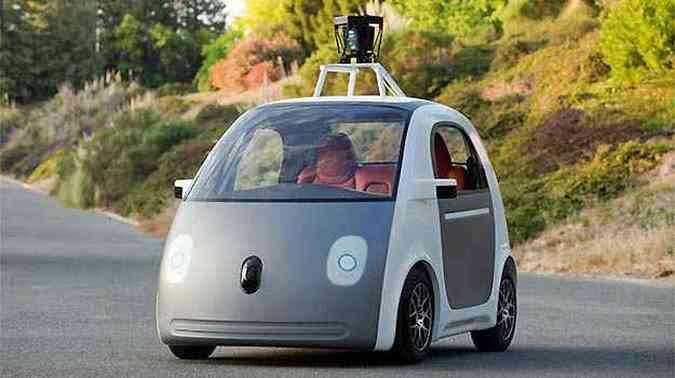 Carro autônomo do Google já roda em testes(foto: Google/Divulgação)