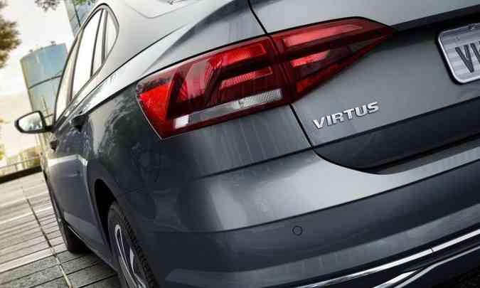 Lanternas traseiras têm desenho horizontal, compondo bem o conjunto(foto: Volkswagen/Divulgação)