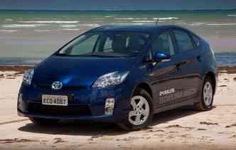 Prius híbrido chegou à quarta geração ano passado(foto: Toyota / Divulgação)