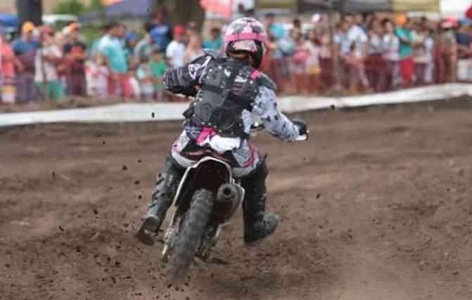 Lane começou a prática do motocross em 2004. Foto: Mulheres no Asfalto / Divulgação -
