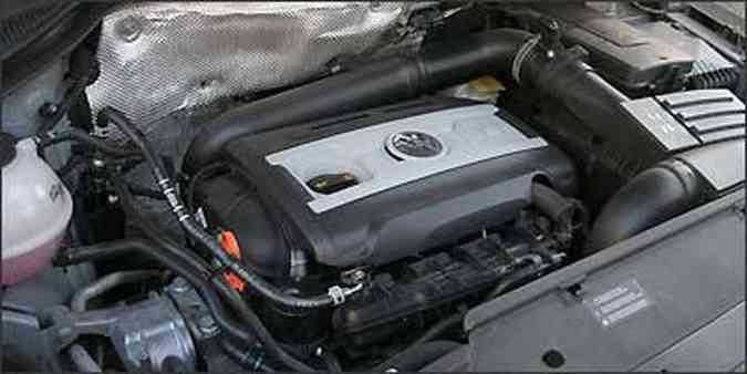 Com o motor 2.0 turbo, Tiguan tem bom no asfalto e na estrada(foto: Fotos: Marlos Ney Vidal/EM/D.A Press)