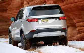 85% da carroceira em alumínio o que garante mais leveza(foto: Land Rover / Divulgação)