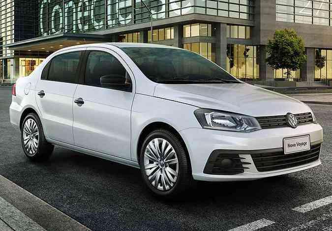 Voyage tem preços a partir de R$ 40.990(foto: Volkswagen/Divulgação)