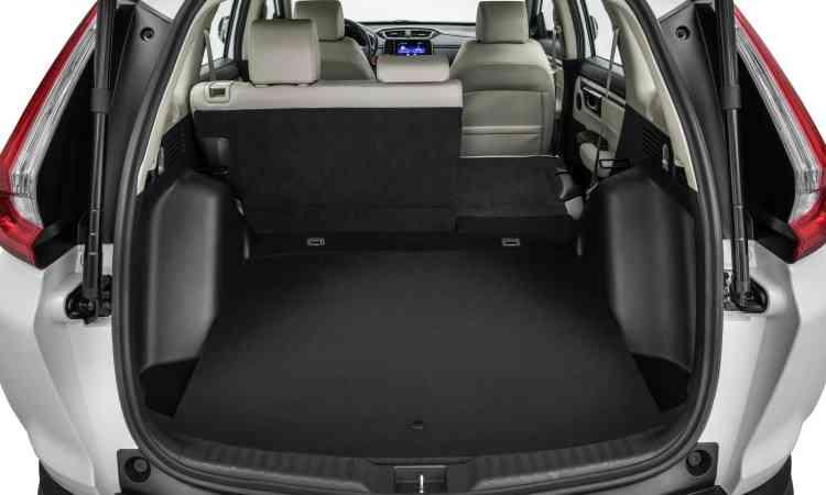 O porta-malas perdeu volume e agora tem capacidade de 522 litros - Honda/Divulgação