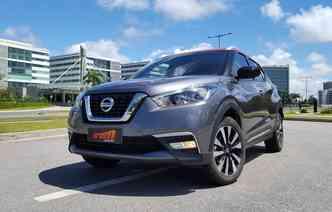 Nissan Kicks aparece pela primeira vez entre os 10 mais vendidos neste ano. Foto: Bruno Vasconcelos / DP