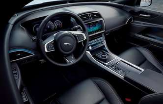 Interior é o mesmo do R-Sport. Foto: Jaguar / Divulgação