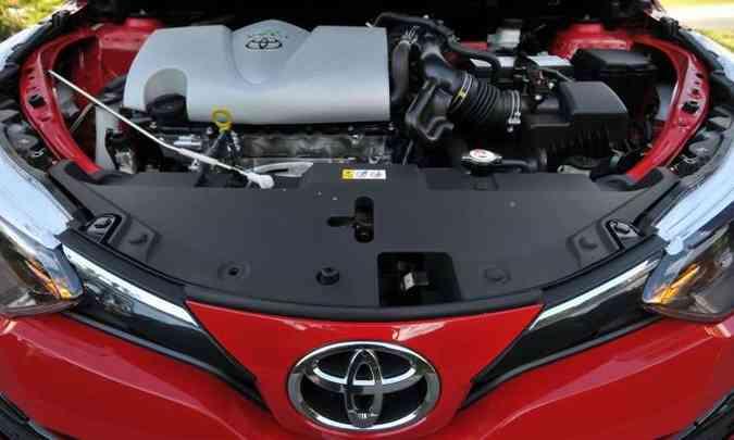 O motor 1.5 16V tem potência e torque menores do que os dos principais concorrentes(foto: Ramon Lisboa/EM/D.A Press)