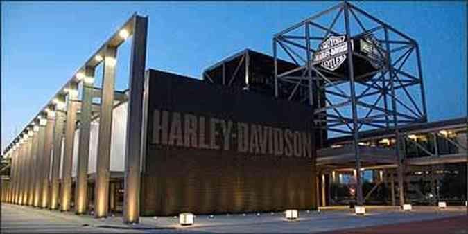 Prédio do museu Harley-Davidson, em Milwaukee(foto: Fotos: Harley-Davidson/Divulgação)