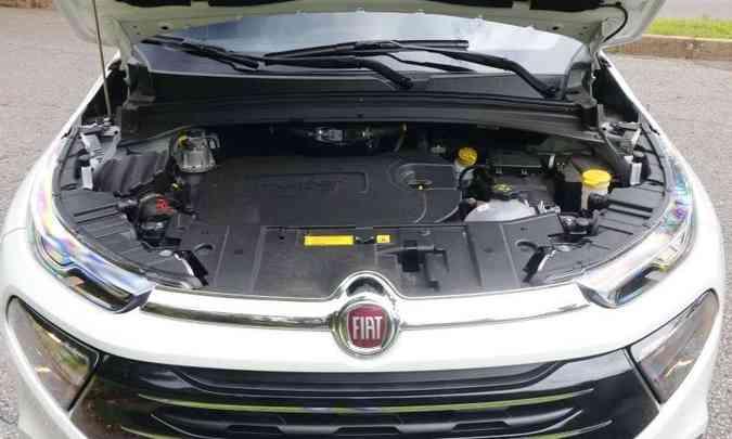 O motor 2.0 turbodiesel de 170cv só acorda depois das 2.000rpm(foto: Adriano Sant'Ana/EM/D. A Press)