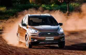 Com o lançamento da linha 2019, Ka ganha versão Fresstyle. Foto: Ford / Divulgação