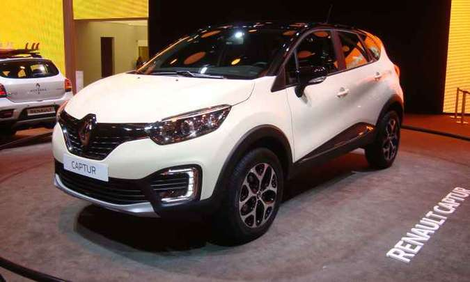 Renault Captur chega em fevereiro, mas terá pré-venda a partir dos próximos dias(foto: Bruno Freitas/EM/D.A Press)