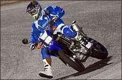 Apresentada como protótipo, virou moto de série rapidamente - Yamaha/Divulgação