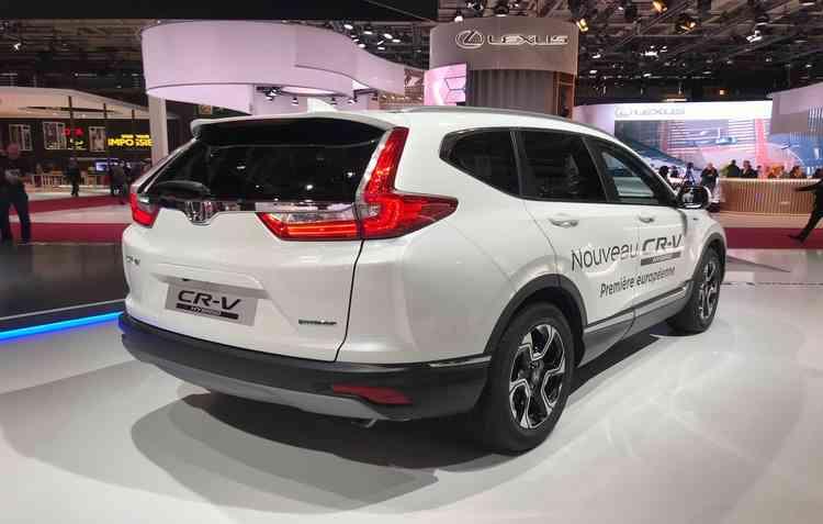 Honda CR-V no Salão de Paris  - Jorge Moraes/ DP