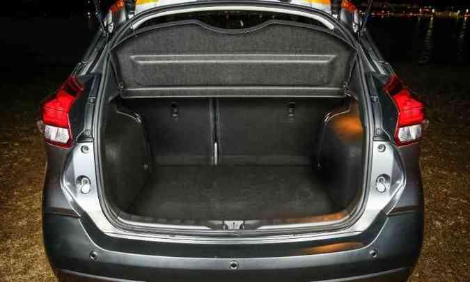 Nissan promete porta-malas com uma das maiores capacidades entre SUVs e crossovers(foto: Nissan/Divulgação)