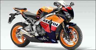 A decoração é inspirada no modelo RC 212V, que compete no mundial de motovelocidade - Fotos: Honda/Divulgação