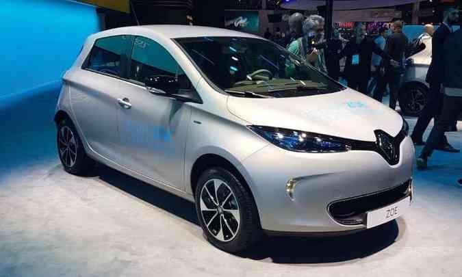 Renault Zoe chegará com o status de elétrico mais barato do Brasil(foto: Pedro Cerqueira/EM/D.A Press)