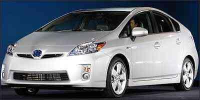 Terceira geração do híbrido Prius, que ficou atualizada para competir diretamente com o novo Honda Insight. - Bryn Mithell/AFP