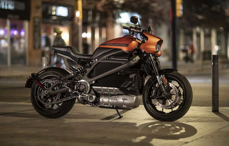 A primeira moto elétrica da marca tem quadro de alumínio, tornando-a super leve  - Divulgação