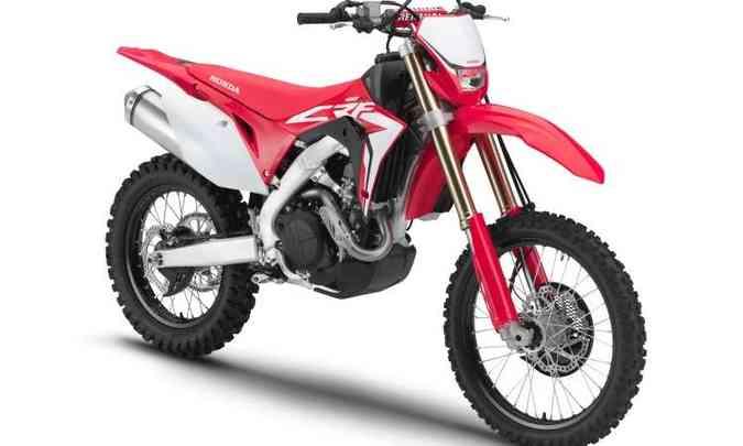 Para as largadas no motocross, a CRF 450R tem controle de partida(foto: Honda/Divulgação)