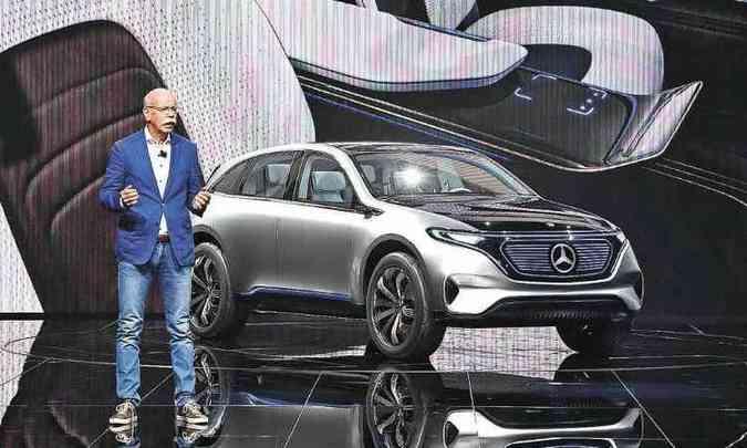 Mercedes-Benz Generation EQ(foto: MIGUEL MEDINA/AFP)