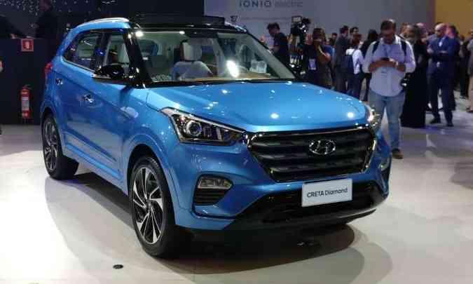 Hyundai Creta Diamond(foto: Pedro Cerqueira/EM/D.A Press)