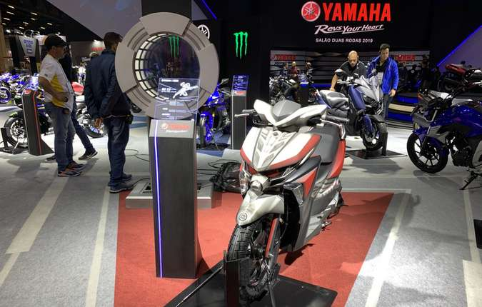Homem formiga foi representado pela Yamaha Neo. Thays Martins/ DP