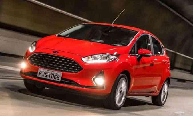 Ford Ka disputa a liderança do mercado nacional(foto: Ford/Divulgação)