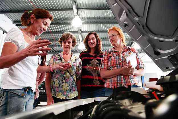 Curso vai ensinar sobre os componentes e funcionamento dos carros  - Volkswagen/Divulgação