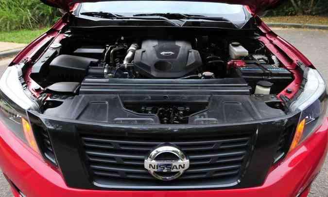 Motor biturbo a diesel desenvolve 190cv e garante bom desempenho, mas só acima das 2.000rpm(foto: Gladyston Rodrigues/EM/D.A Press)