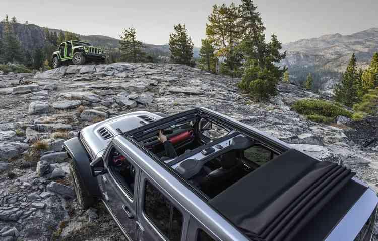 Utilitário é astral e deve agradar os dispostos à aventuras. Foto: Jeep / Divulgação -