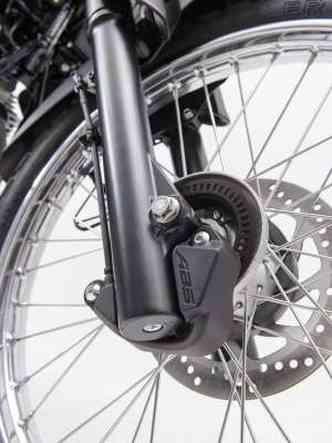 Freio dianteiro agora está equipado com sistema ABS(foto: Gustavo Epifânio/Yamaha/Divulgação)