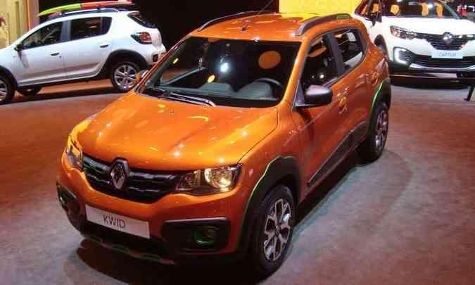 Renault Kwid só chega no fim de 2017 e aparece como 'conceito' Outside(foto: Bruno Freitas/EM/D.A Press)