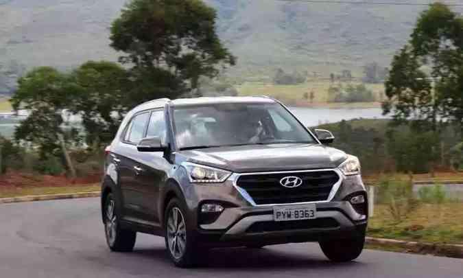 Hyundai Creta(foto: Gladyston Rodrigues/EM/D.A Press)