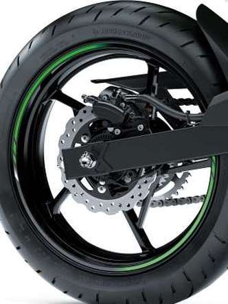 Os freios contam com sistema ABS(foto: Kawasaki/Divulgação)