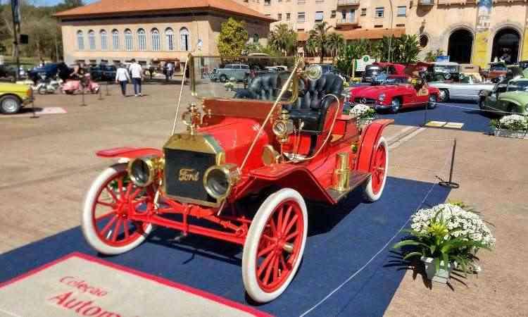 Ford T 1908 - Pedro Cerqueira/EM/D.A Press