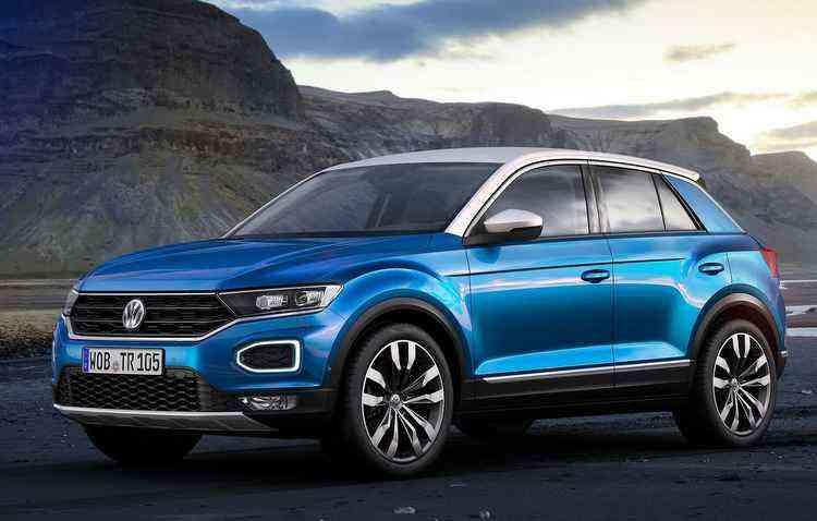Por enquanto, o Volkswagen T-Roc não desembarcará no Brasil - Volkswagen/Divulgação