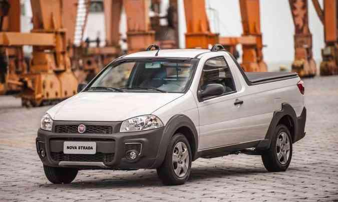A versão de entrada Strada Hard Working deixou de ser produzida no início de janeiro(foto: Fiat/Divulgação)