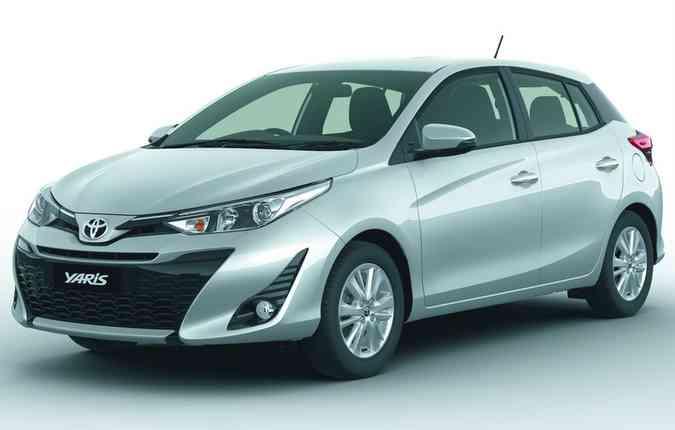 Compacto competirá com Ford Fiesta, Peugeot 208 e as versões mais caras do Hyundai HB20 e Fiat Argo(foto: Toyota/Divulgação)
